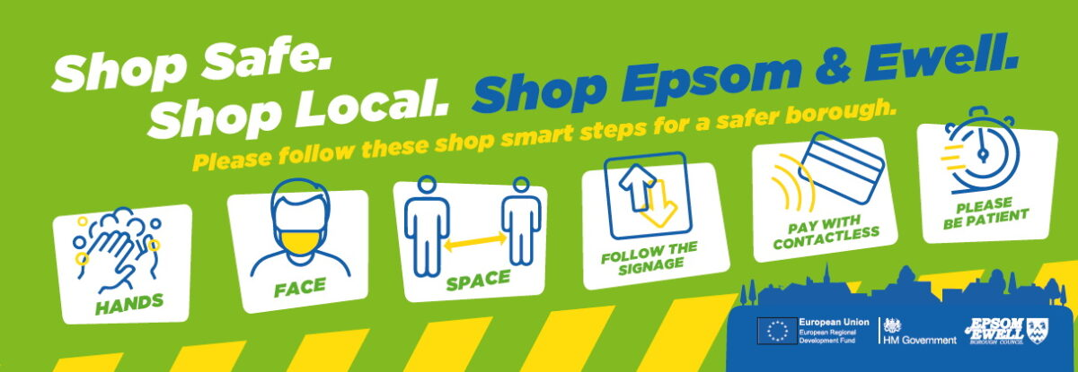 Support your local area – let's shop!
